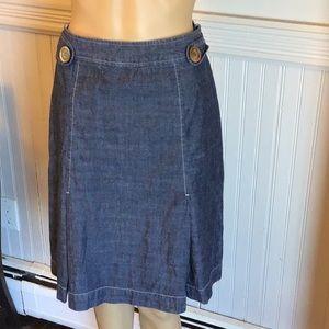 J Jill jean skirt size 10